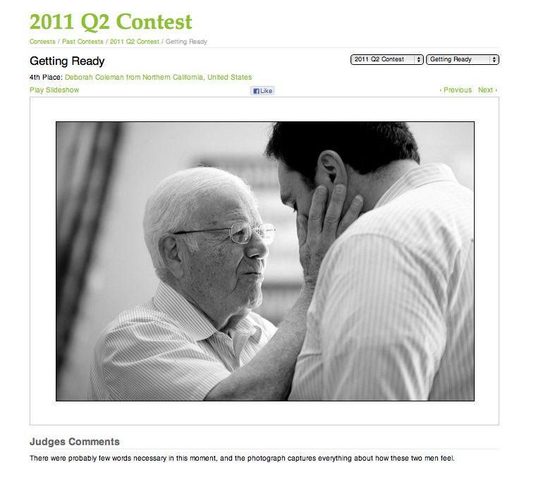WPJA Q2 2011 Contest Results